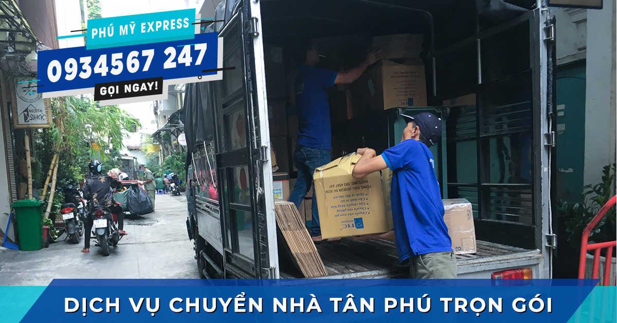 Chuyển nhà siêu rẻ Quận Tân Phú nhanh chóng